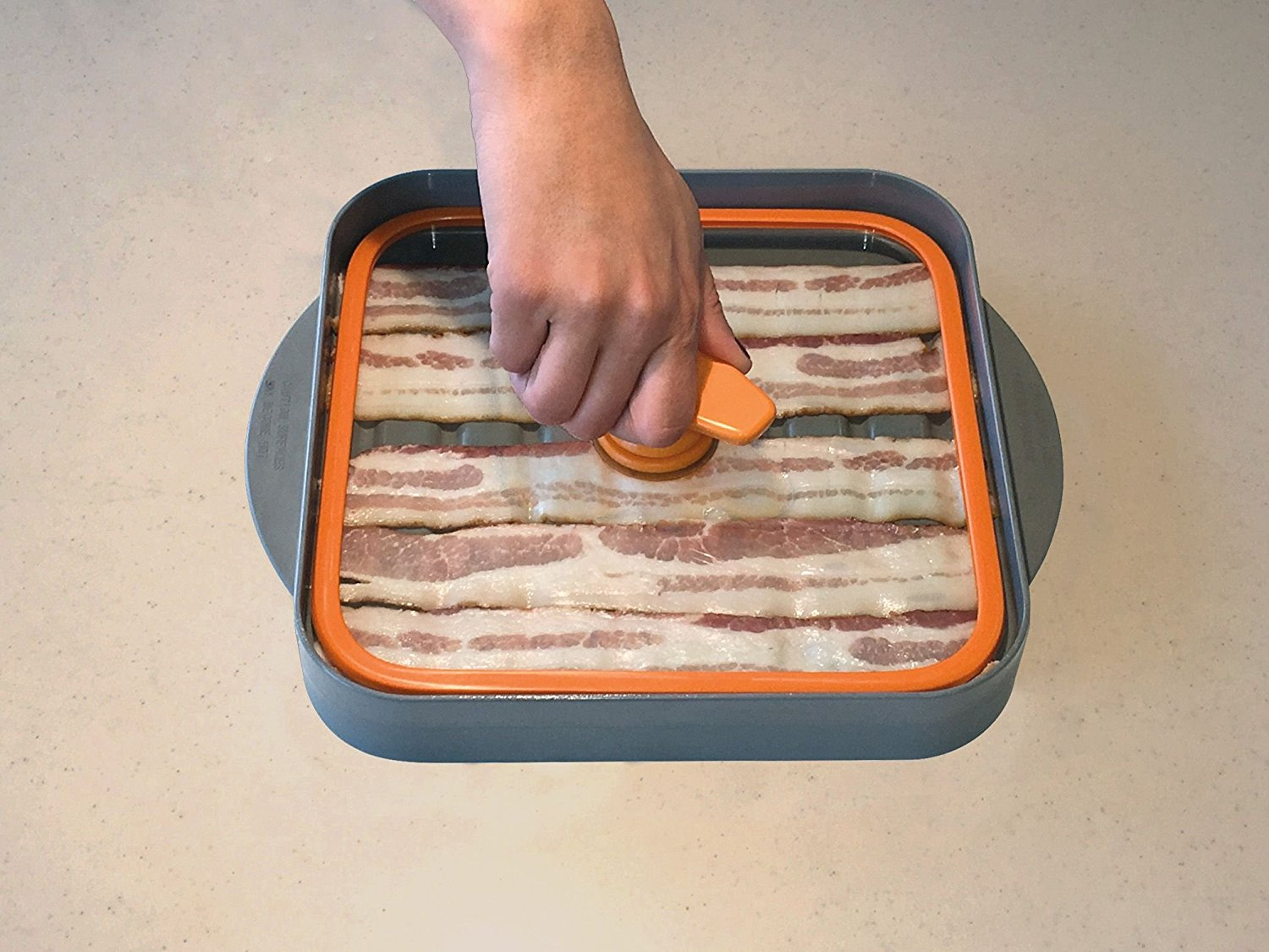Bacon Cooker Microwave The Boss