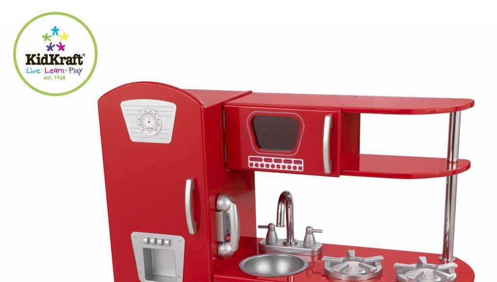 Kidkraft Retro Kitchen kidkraft retro kitchen red review - special magic kitchen